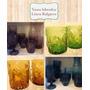 Vasos Labrados Colores 6 Unidades