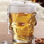 Vaso Cerveza Chop Calavera Importado Grande + Vaso De Regalo