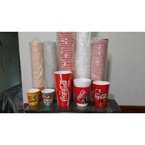 Vasos Descartables Coca Cola