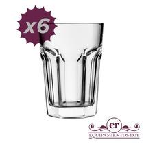 Vaso Durax Set X 6 Unidades Vidrio Oferta