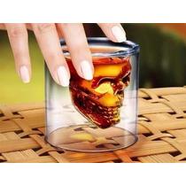 Vaso De Whisky Calavera! Geniales! Diseño! Original!