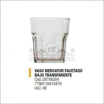 Vaso Facetado Bajo - Durax Vidrio Resto Bar
