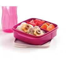 Portavianda Cuadrado + Eco Twist Violeta Tupperware Original