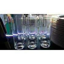 Vaso Trago Largo-fondo Hueco Cañita 18 Cm Alto Bar Catering