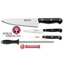 Set Cuchillos Arbolito Chefs-estudiantes 25cm Funda Enrollar