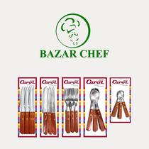 Cuchillo Mango Madera - Bazar Chef