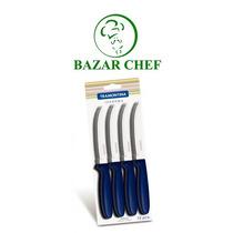 Tramontina - Ipanema Cuchillo X12 Azul - Bazar Chef