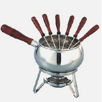 Fondue Acero Inoxidable Pinches Mechero Marca Anabea