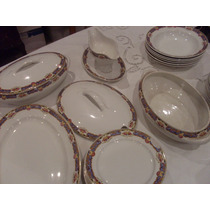Vajilla Porcelana Sellada Maestricht Holland 49 Pzs