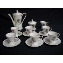 Vajilla Juego De Cafe Porcelana Alemana Bavaria Shabby Chic