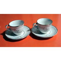 Pocillos Para Cafe En Porcelana Tu Y Yo