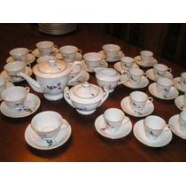 856-juego De Té Y Café Porcelana K.s.golden 48 Piezas