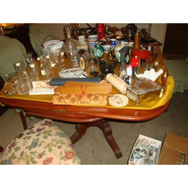 Espectacular Conjunto De Muebles Adornos Porcelanas