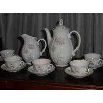 315- Juego De Cafe Porcelana Verbano
