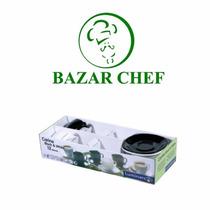Luminarc - Carine Taza Te + Plato Negro - Bazar Chef