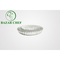 Tartera Desmontable Rizada 24 X 4 Cm - Bazar Chef
