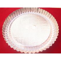 Molde De Tarta Aluminio N26