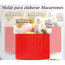 Placa De Silicona Para Macarons - Macarones - 30 Circulos
