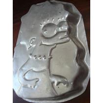 Molde Para Torta En Aluminio Con Imagen De Liza Simpsons