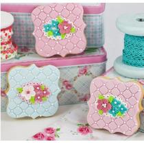 Cortantes Cookies Setx3 - Shabby Chic - Cookies Y Tortas