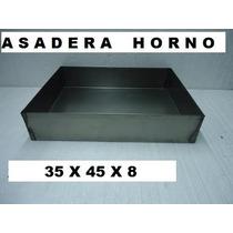 Asadera 35x45x8 P/ Horno Molde Torta Pastelero Bizcochuelo