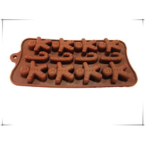 Molde De Silicona Para Chocolat