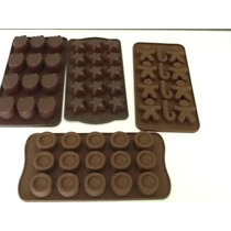 Moldes - Placa De Silicona Para Bombones Oferta! Chocolate