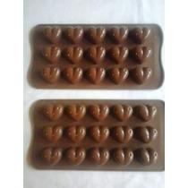 Moldes Silicona Corazones Para Chocolate,jabon