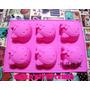 Moldes Muffins Silicona No Goma Hello Kitty Importado