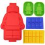 Molde Silicona Lego - Bloques - Distintos Tamaños - 5 Moldes