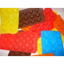 Molde Silicona Formas Bombones Jabones Cubeteras Artesanía