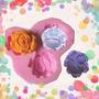 Molde De Silicona Rosas,flores.no Es Caucho !!!!