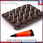 Molde Lapiz Silicona Pop Cakes Decorador Chupetines