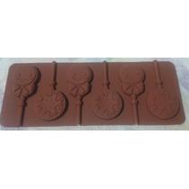 Molde Silicona Bomboneria - Paletas De Chocolate!!