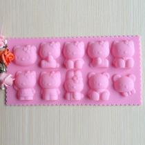 Molde De Siliconas Hello Kitty Reposteria