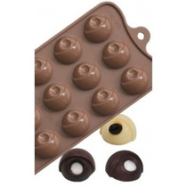 Molde Silicona Chocolate Bombones