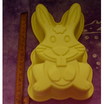 Moldes De Silicona Conejo Ideal Pascua 20cm