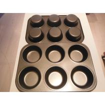 Molde Para Reposteria De Teflon Para Cupcakes