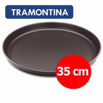 Pizzera Antiadherente Molde Pizza Tramontina - 35 Cm