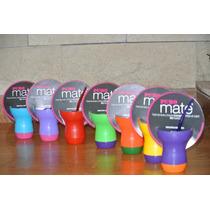 Mate Silicona De Colores Ideal Souvenir