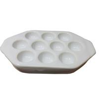 Provoletera Ceramica Blanca 10 Porciones P/horno Parrilla