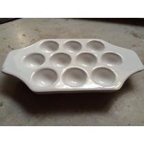 Provoletera De Ceramica Blanca