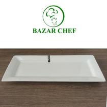 Fuente Rectangular 38 X 15 Cm - Bazar Chef
