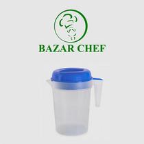 Jarra Facetada 1,8 Litros Con Tapa - Bazar Chef