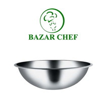 Bowl Profundo Acero Inoxidable 24 Cm - Bazar Chef