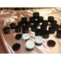 Potes Crema Negro 25 Cc Doble Fondo/rosca C/ Tapa Adicional