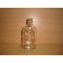 Botellitas Vidrio 100 Cc. Por 25 Unidades Envase-souvenirs
