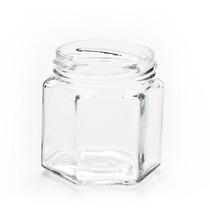 Frascos Vidrio 190cc Hexagonal Envases Souvenirs Pack 10un