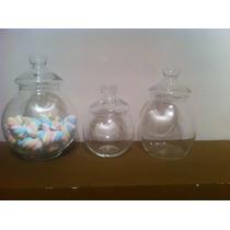 Frascos De Vidrio Con Tapa Ideal Para Decoración ,candy Bar