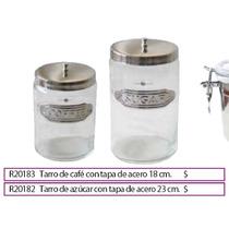 Tarro Cafe Con Tapa De Acero 18 Cm..